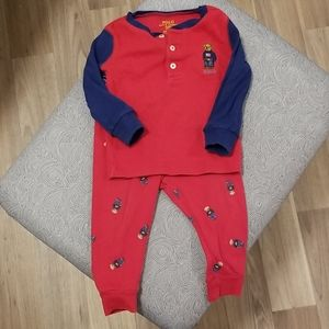 Infant Polo Pajamas